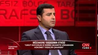 Selahattin Demirtaş Ahmet Hakan'ın sorularını yanıtladı: Tarafsız Bölge - 18.06.2014