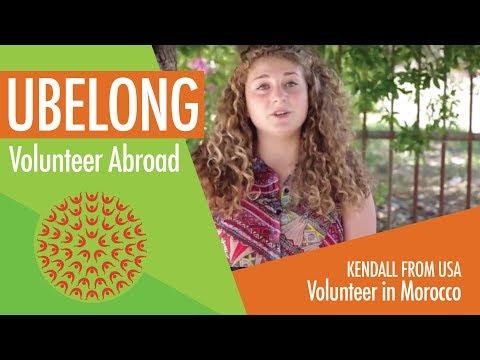 Miami University student volunteers in Morocco