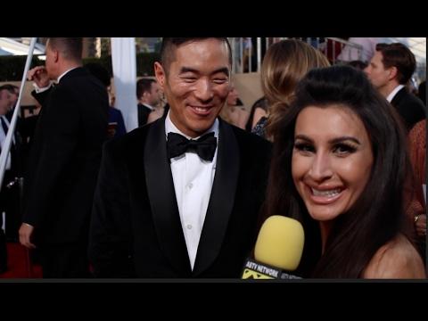 Leonardo Nam talks working wAnthony Hopkins & possible Samurai World @ 2017 SAG Awards