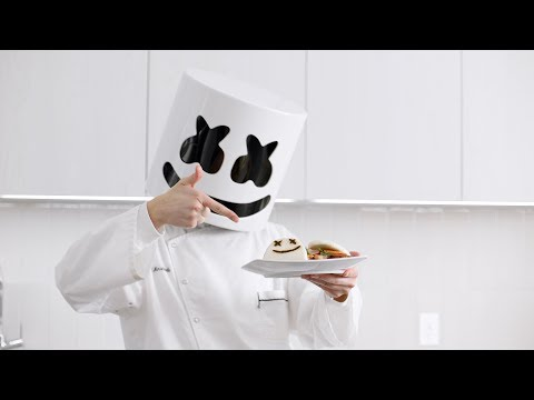 How To Make Bao Buns | Cooking with Marshmello