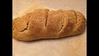 Бездрожжевой хлеб очень простой рецепт