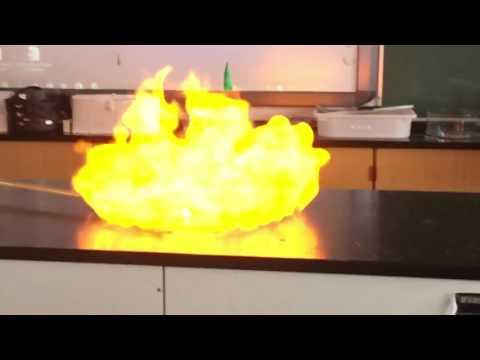 Hydrogen ballon der eksploderer!