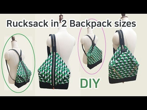 백팩 DIY/숄더 백/Backpacks DIY/Shoulder bag/Make a backpack/ショルダーバッグ/Schultertasche/單肩包