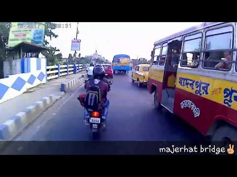 Kolkata timelapse - travelling north to south