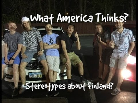 Stereotypes: What Americans thinks about Finland?