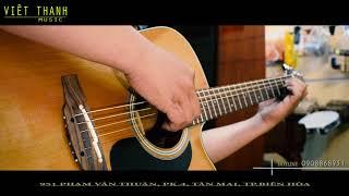 Demo Guitar Acoustic Takamine  P1DC- Cây Guitar đẳng cấp sản xuất tại Nhật
