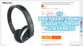 15 Best Electronic Gadgets from AliExpress for $30 or less