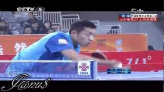 2012/13 China Super League: XU Xin - ZHANG Jike [Full Match/Short Form]
