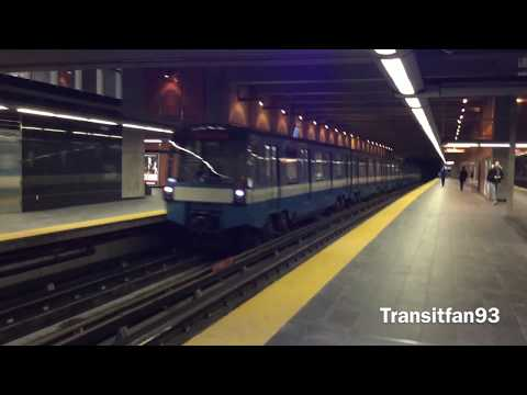 MONTREAL METRO AZURS AND MR-73 IN ACTION