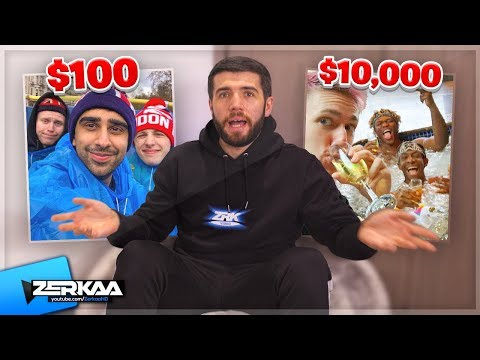 How I Planned The Sidemen $10,000 vs $100 Holiday Video
