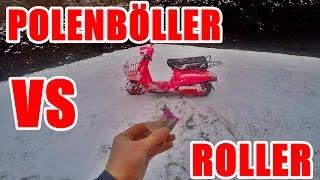 POLENBÖLLER VS ROLLER (ROLLERZERSTÖRUNG)