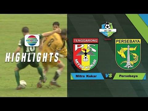 Mitra Kukar (3) vs (1) Persebaya Surabaya - Full Highlight | Go-Jek Liga 1 bersama Bukalapak