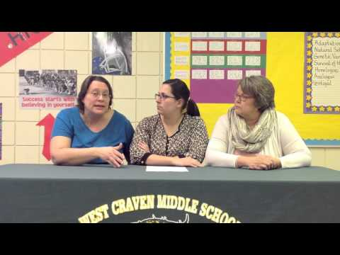 """Teacher Spotlight on West Craven Middle School - """"Collaborative Planning, Execution, and Analysis"""""""