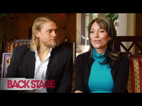 'Sons of Anarchy': Charlie Hunnam and Katey Sagal