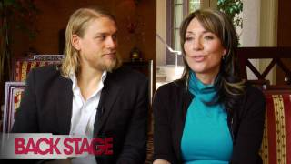 'Sons of Anarchy': Charlie Hunnam and Katey Sagal Interview