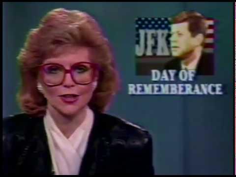 NBC 5 Chicago news - JFK assassination 25th anniversary - November 22, 1988