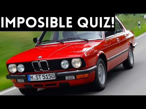 THE ULTIMATE CAR GUY QUIZ!