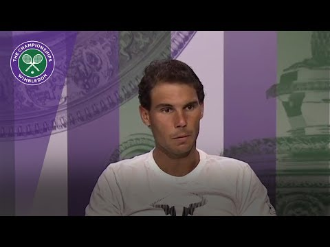 Rafael Nadal Wimbledon 2017 fourth round press conference