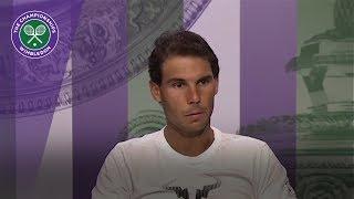 Rafael Nadal Wimbledon 2017 fourth round press conference thumbnail