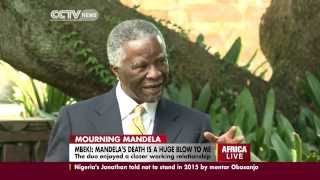 Gambar cover Former SA president, Thabo Mbeki talks on Mandela