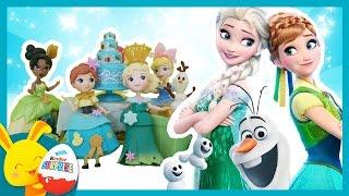 Histoire Touni Toys Reine des Neiges: Anniversaire Elsa et les princesses Disney - Titounis
