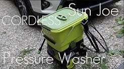 This is a CORDLESS Pressure Washer from SunJoe - SPX6001C  - Hands on Review / Demo