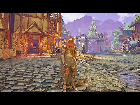 Ashes of Creation 32 Minutes of Gameplay Demo & Trailers (New OPEN WORLD MMORPG Game 2018)