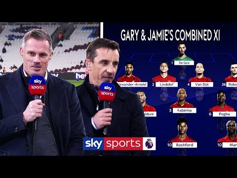 Neville & Carragher's Combined Man Utd and Liverpool XI
