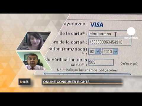 Euronews U Talk - Quels Sont Les Droits Des Cyber-consommateurs ?