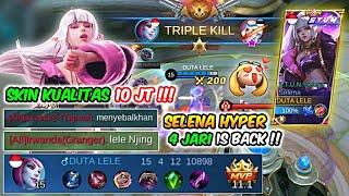 Review Skin Selena S T U N Hyper Selena 4 Jari Is Back Mobile Legends MP3