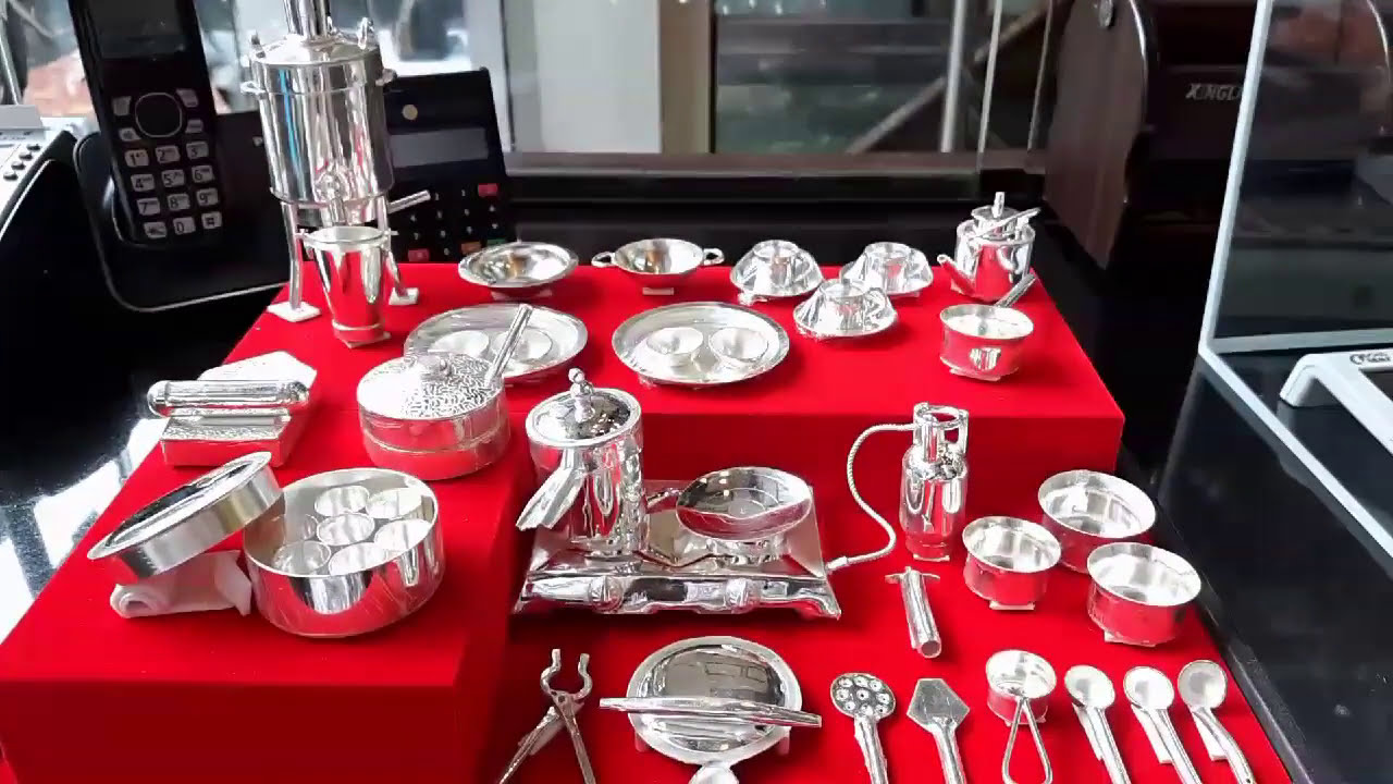 Nashik 999 Silver Kitchen Set Youtube