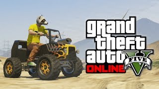 GTA 5 Online Hipster Update: Hot Rod Blazer! (Grand Theft Auto V)