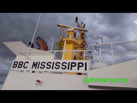 "General Cargo Ship ""BBC MISSISSIPPI"" #FrontsOfBadWeather #ElCodillo #PuntaIndioChannel #RioDeLaPlata"