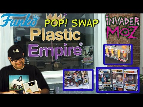FUNKO POP SWAP @ PLASTIC EMPIRE!! GRAILS! EXCLUSIVES! CHASES!