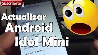 Alcatel One Touch Idol Mini Cómo actualizar Android Español
