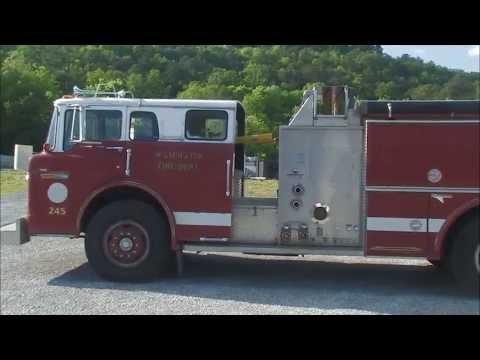 1986 ford c8000 fire truck for sale gadsden alabama youtube. Black Bedroom Furniture Sets. Home Design Ideas