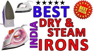 BEST DRY & STEAM IRONS INDIA   Hindi   बेस्ट प्रेस