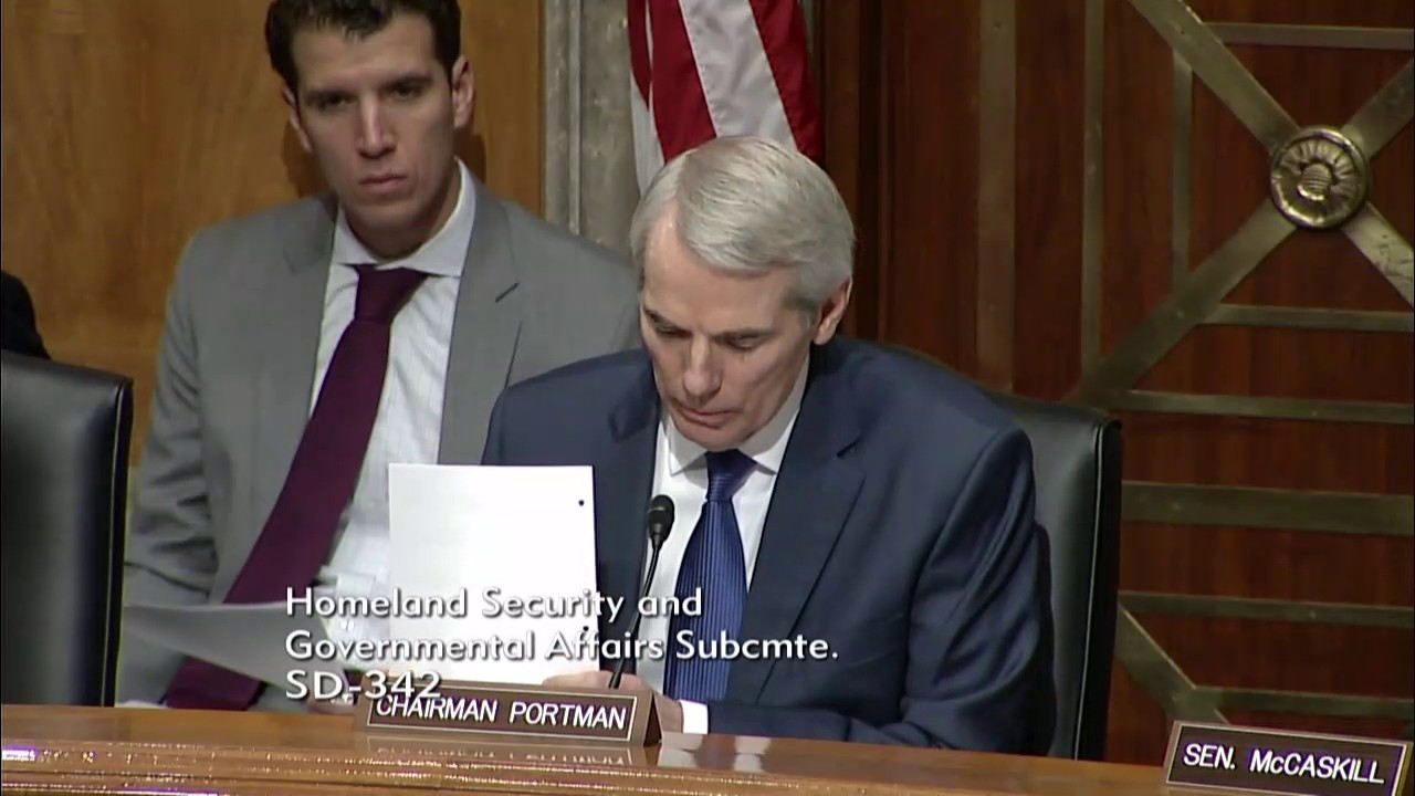 Portman Questions Backpage Ceo Carl Ferrer