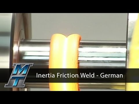 Inertia Friction Weld Process - German