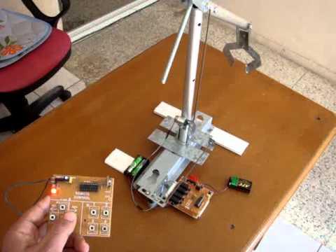RF 8 KANAL KUMANDA RÖLE ROBOT KOL HAREKETLERİ