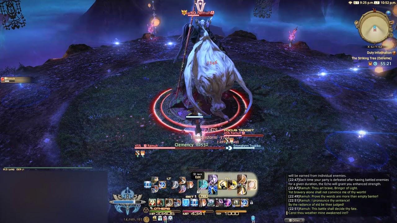Final Fantasy XIV - Ramuh (Extreme) Solo - Paladin