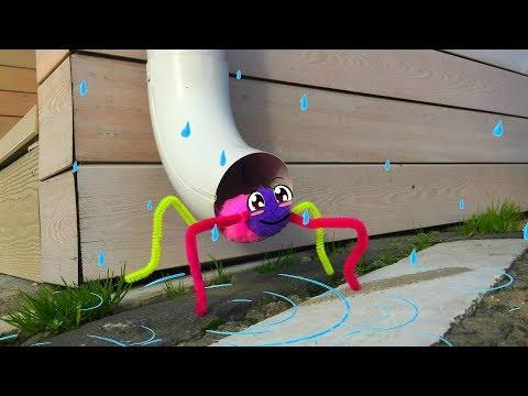 🕸 Incy Wincy Spider Nursery Rhyme With Lyrics   Cartoon Animation Rhymes & Songs for Children
