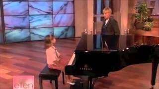 Emily Bear - Piano Prodigy - Age 6 - edited 1st appearance on Ellen Show