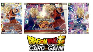 Ouverture de la display tb02 World Martial Arts Tournament dragon ball super card game