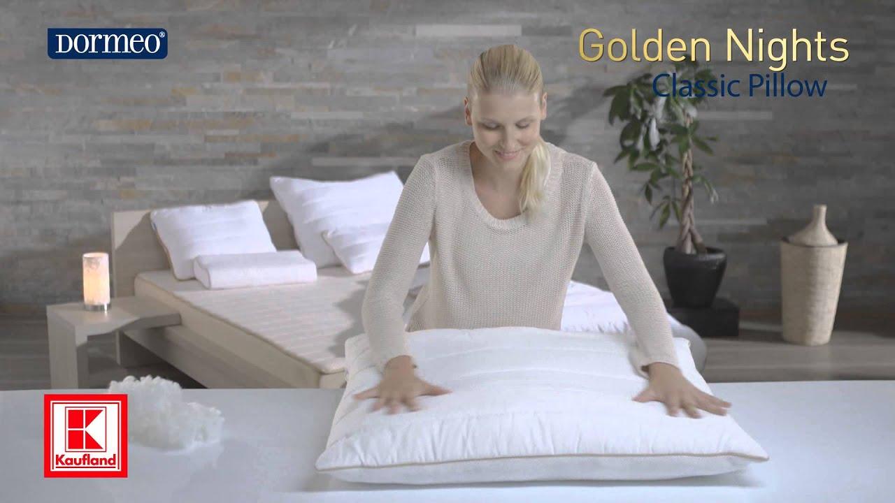 Poduszka Klasyczna - Dormeo Golden Nights Pillow Classic - YouTube abe3ee46cd