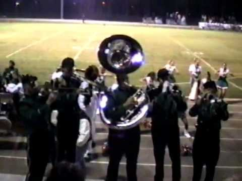 Mosley High School Band 1997 random clips