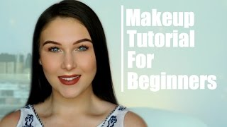 Step by Step Full Face Makeup Tutorial for Beginners