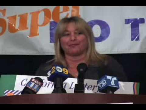 SuperLOTTO Plus jackpot winner Tami Senoff