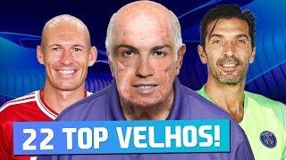 MELHORES VETERANOS GANHAM A CHAMPIONS? | FIFA 19 Experimentos