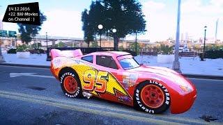 Lightning McQueen GTA IV MOD ENB 2 7K 1440p